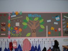 Maths display - number bonds to 10 by Vikki_Brookes, via Flickr could make a smaller tree for number bonds to 5 and a bigger tree for 20.