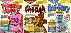 Sugary cereal was a real treat.  They were usually eaten on Saturday mornings during cartoons which was the only day they were aired.