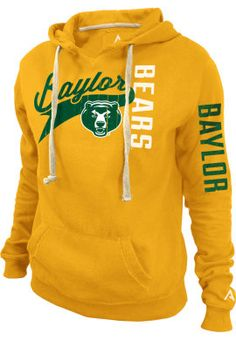 KNIGHTS APPAREL INC : Baylor University Women's Hooded Sweatshirt : Baylor Bookstore : www.baylor.bkstr.com