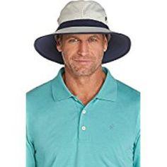 ab73c5ba2a7 Beautiful Coolibar UPF 50 Men s Matchplay Golf Hat - Sun Protective.   45   topbrandsclothing