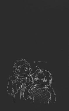 Fullmetal Alchemist - Edward & Alphonse Elric