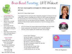 New activities for brain-based parenting, no more punishment