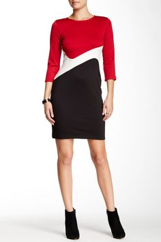 $20 Abstract Colorblock Dress by Amelia on @nordstrom_rack