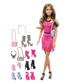 Look at this Barbie Doll & Shoes Accessory Set on #zulily today!
