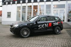 SKN BMW X3 2.0d RS (F25)