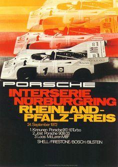 Interserie Nurburgring, Rhineland Pfalz Preis 1972