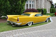 """1958 Chrysler customized hardtop """"Golden Sunrise"""". ....Like going fast? Call or click: 1-877-INFRACTION.com (877-463-7228) for local lawyers aggressively defending Traffic Tickets, DUIs and Suspended Licenses throughout Florida"""