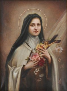 St. Therese as painted by her sister, Celine