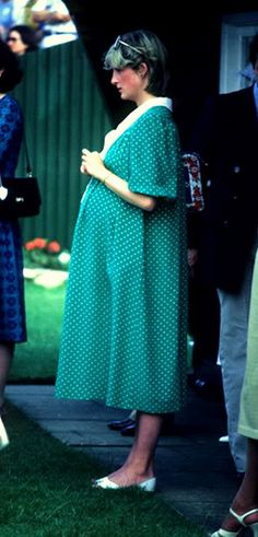 Princess Diana...pregnant with Prince William