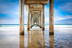 La Jolla Pier. Amazing places to photograph in San Diego. http://ordinarytraveler.com/tipsarticles/best-places-photograph-san-diego