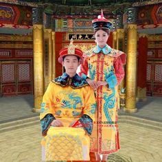 g nstige chinesischen kaisers kost m gelben kaisers qing dynastie kleidung qing dynastie kost m. Black Bedroom Furniture Sets. Home Design Ideas