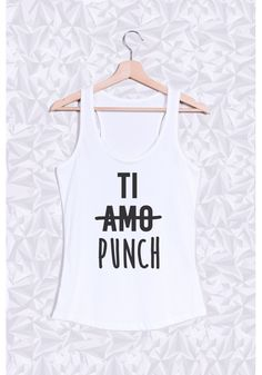 TI AMO TI PUNCH - #JaimeLaGrenadine #citation #punchline #sweat #FairWeir #apero #frenchy #french #tiamo #amour #love #tipunch #punch