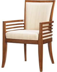 Tommy Bahama Home Ocean Club Kowloon Arm Chair - Transitional - Armchairs And Accent Chairs - by Unlimited Furniture Group