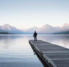 Photo by Corey Arnold @arni_coraldo Couldn't resist the classic dock view selfie at Lake McDonald in Glacier National Park during my search for millennials using America's national parks. On assignment for @natgeo #glaciernationalpark #dockview #selfie #lakeMcDonald #nature #findyourpark #montana #nationalpark @glaciernps #glaciernps by natgeo