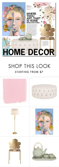 """""""Home decor"""" by miee0105 ❤ liked on Polyvore featuring interior, interiors, interior design, home, home decor, interior decorating, AERIN and NOVICA"""