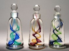 Sanders & Wallace Glass | Corkscrew Bottles