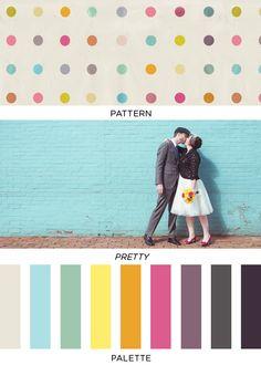 Pattern Pretty Palette | 26 | Brooklyn Bride - Modern Wedding Blog