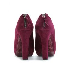 Mui Mui Suede Ankle Boots with glitter soles www.mytheresa.com
