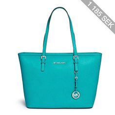 Michael Kors 'Jet Set Travel' saffiano leather top zip tote