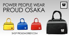 Proud Osaka comes in Black, Red, Royal Blue, and Yellow Cantaloupe. Shop the bag for 49 € at http://www.proudmorbey.com.