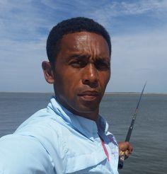 Temba fishing in Savannah, GA