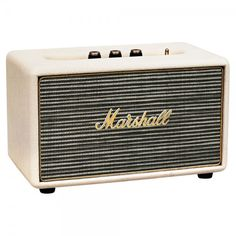 Marshall Acton Wireless Bluetooth Speaker Cream