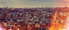 I fell in love the way you fall sleep. Slowly, and then all at once. - John Green    Amsterdam