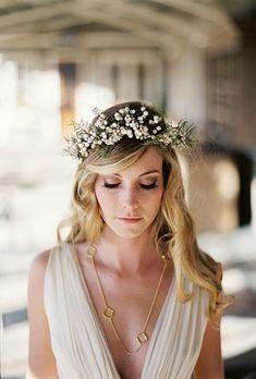 ¿Eres una novia bohemia? Revisa estas ideas para llevar con clase un peinado hippie