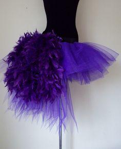Deep PURPLE tutu skirt Burlesque Moulin Rouge by thetutustoreuk, $60.00