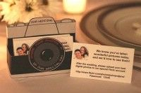 Photo sharing cards, set up a Shutterfly account and have everyone upload the photos they took at your wedding, the more photos the better!!