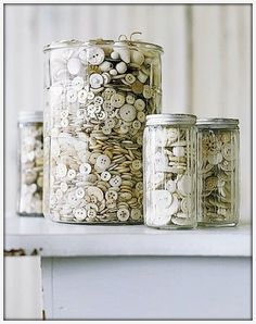 DIY Shabby Chic | DIY-SHABBY CHIC / DIY - COMPLETE SHABBY CHIC Button Craft Round Up!!!