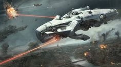 Light Tactical Cruiser going on the offensive - Dreadnought (game)
