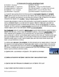 Three King's Day Articles with Comprehension Questions and Letter Writing Activity to the Three Kings in Spanish