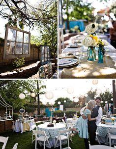 Inspired Backyard Wedding