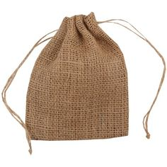 Jam Paper Burlap Pouches, 5 inch x 6 inch- Natural Brown Recycled, Sold Individually, Size: 5 x Fun Arts And Crafts, Arts And Crafts Projects, Burlap Bags, Paper Envelopes, Natural Brown, 6 Packs, Bridal Showers, Baby Showers, Small Gifts