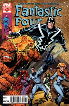 Fantastic Four 600 variant by Art Adams