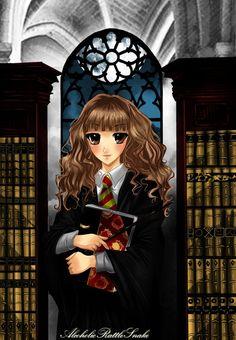 Hermione by AlcoholicRattleSnake.deviantart.com on @deviantART