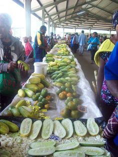 Papua New Guinea's diet is largely vegetarian.