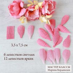 Paper Art, Paper Crafts, Diy Crafts, Crepe Paper Flowers, Diy Tutorial, Flower Power, Babys, Tattoos, Projects