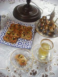 Operación Pastelito:: Nidos con pasta kataifi y pistachos verdes