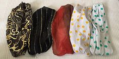 CLAIRE'S ADJUSTABLE CLOTH HEADBANDS-VARIOUS STYLES-YOU PICK | eBay