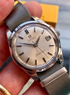 Used Watches, Dream Watches, Fine Watches, Men's Watches, Gentleman Watch, Omega Seamaster Automatic, Omega Seamaster Professional, Expensive Watches, Vintage Omega