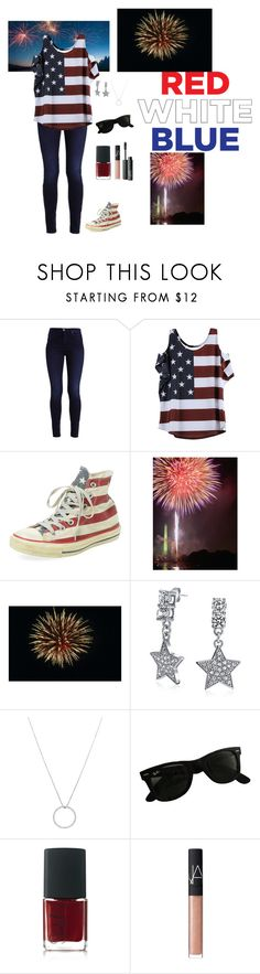 """Seeing the Fireworks with Friends"" by mias-angels on Polyvore featuring Clinical Care Skin Solutions, Bling Jewelry, Roberto Coin, Ray-Ban and NARS Cosmetics"