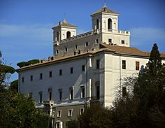 Villa Medici (1564-1575; seat from 1804 of France's Academy) in Rome