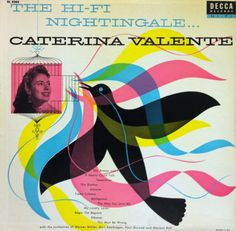 1956 The Hi-Fi Nightingale / Caterina Valente [Decca Gold Label Series catalogue no DL 8203]
