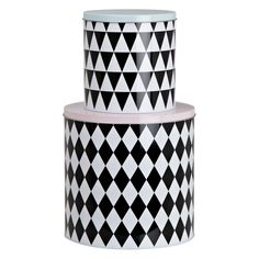 Ferm Living Geometry Tins shapes of #vision