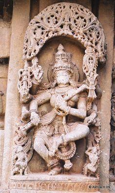 Goddess Sarasvati - The Chennakeshava & Someshwara temples were built in BC 1270.