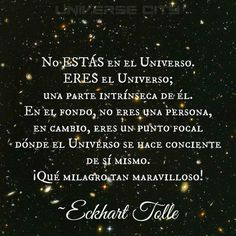 Eres el universo