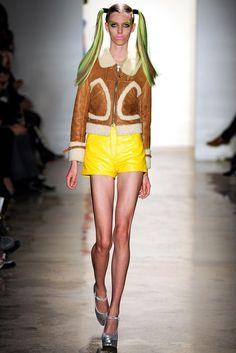 Jeremy Scott - Fall 2011 Ready-to-Wear