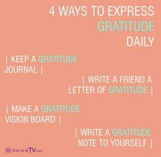 Gratitude expressions